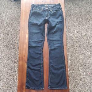 Sz 10 Long Levi's boot cut jeans